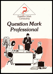 Question Mark Professional manual cover